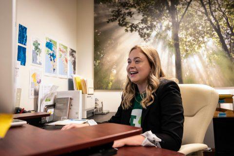 Rachel Krusenoski unpaid internship
