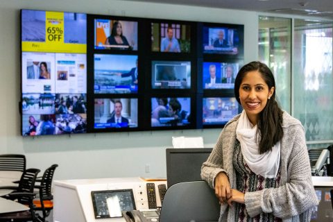 Sanika Bhargaw multimedia newsroom