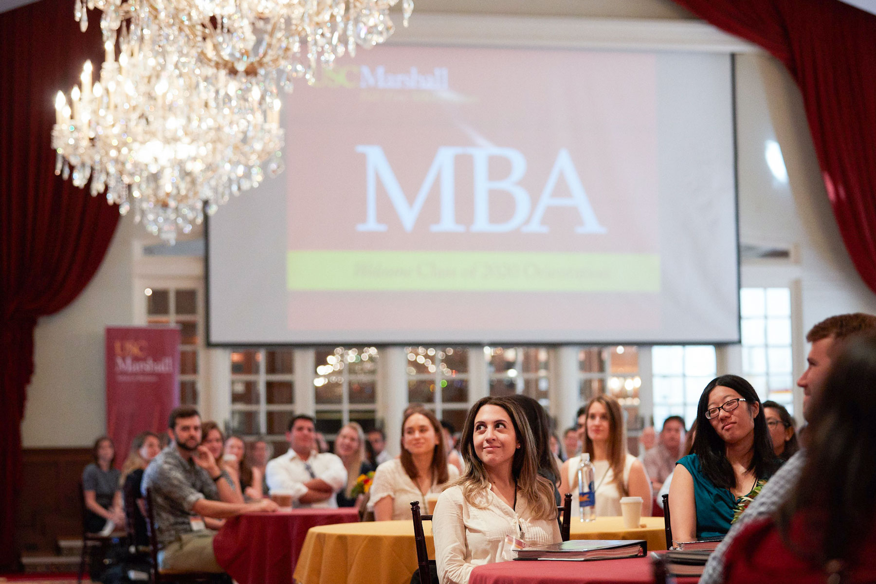 Women in business: MBA orientation
