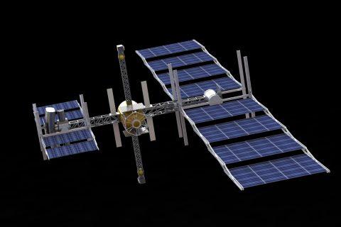 spaceship concept Hyperion
