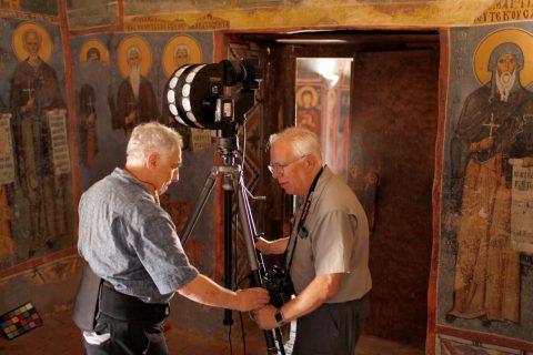 Zuckermans digitally capture Byzantine murals