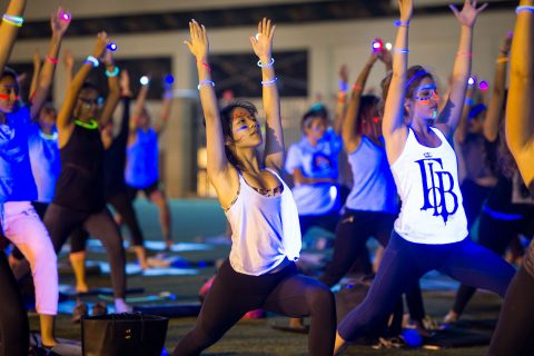 free yoga class USC