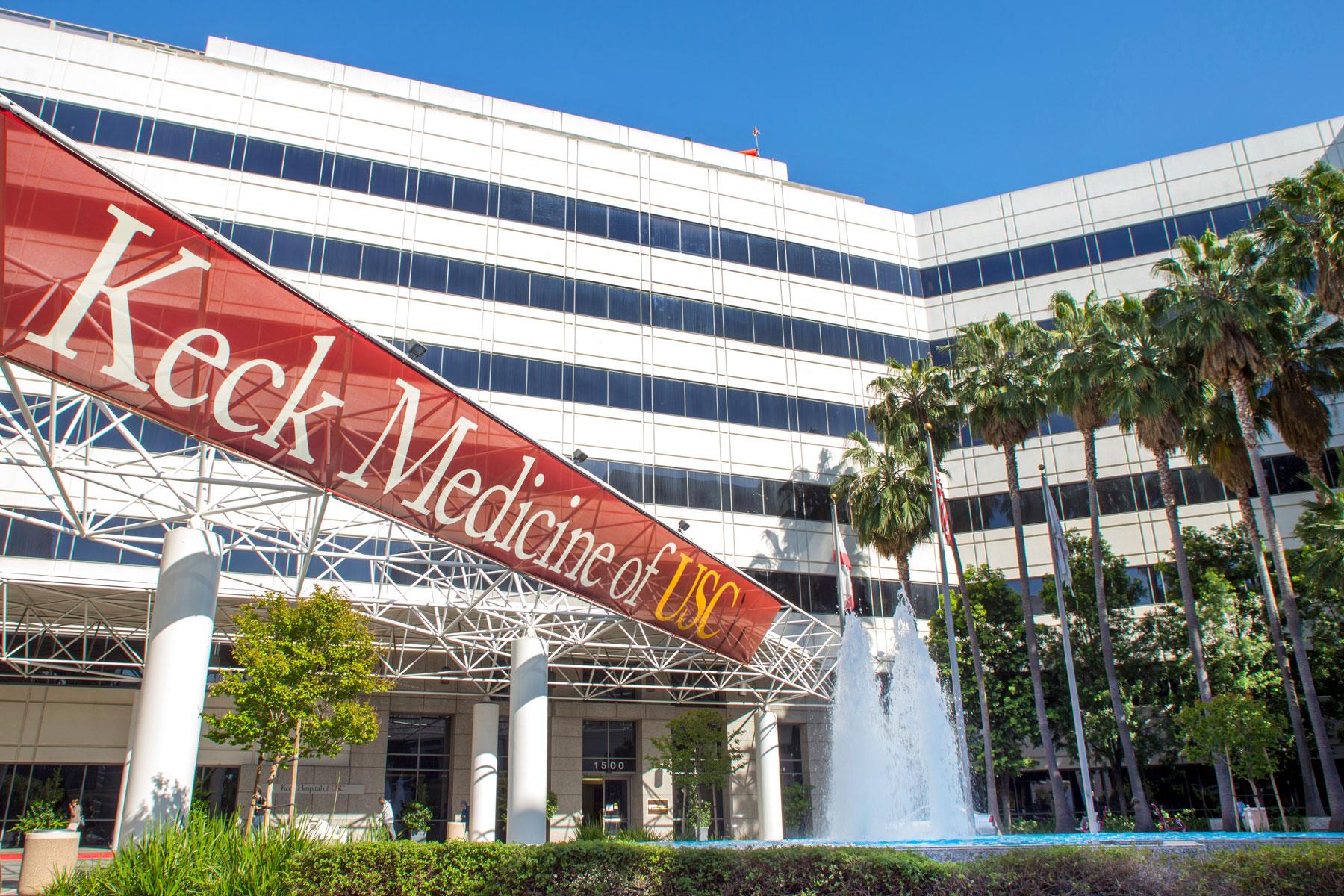 Keck Hospital of USC web.