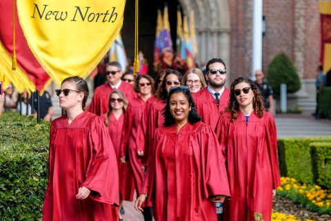 2018 USC new student convocation