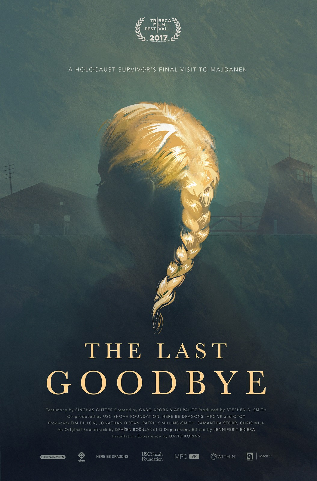 Remembering the Holocaust: The Last Goodbye film poster