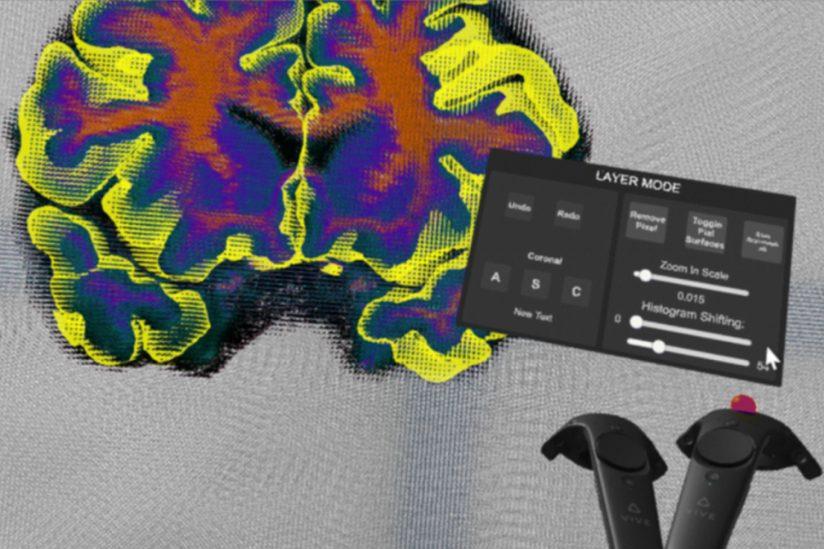 Virtual Brain Segmenter VR