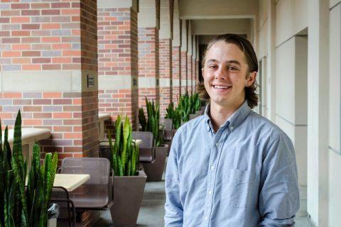 USC Bennis Scholar Eric Bergmann