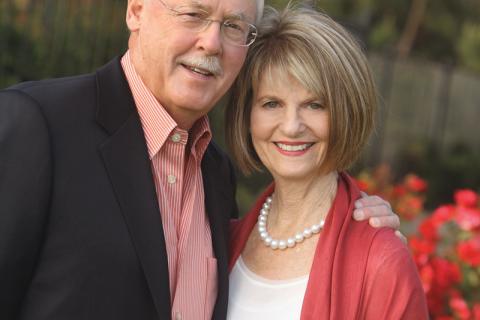 Daniel and Phyllis Epstein.