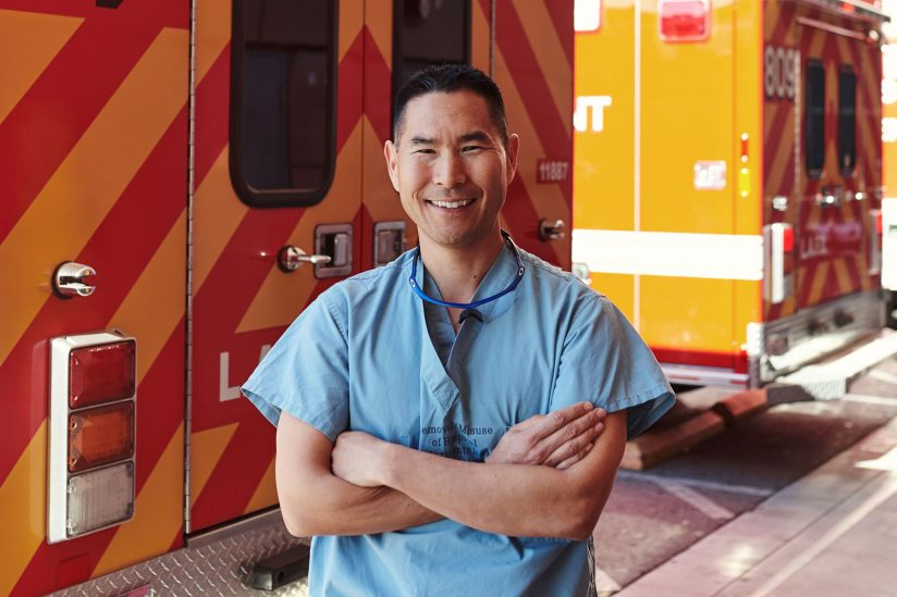 USC doctor reserve police officer Kenji Inaba LAPD