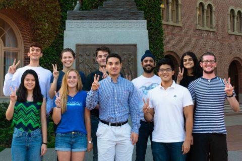 USC student support programs TrojanSupport