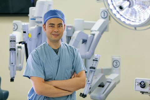 Robotic surgery in the future: Andrew Hung