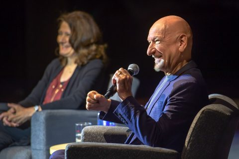 Ben Kingsley at USC