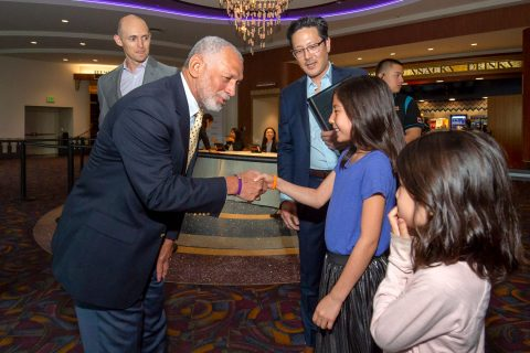 "Neil Armstrong USC: Charles Bolden at the ""First Man"" screening"