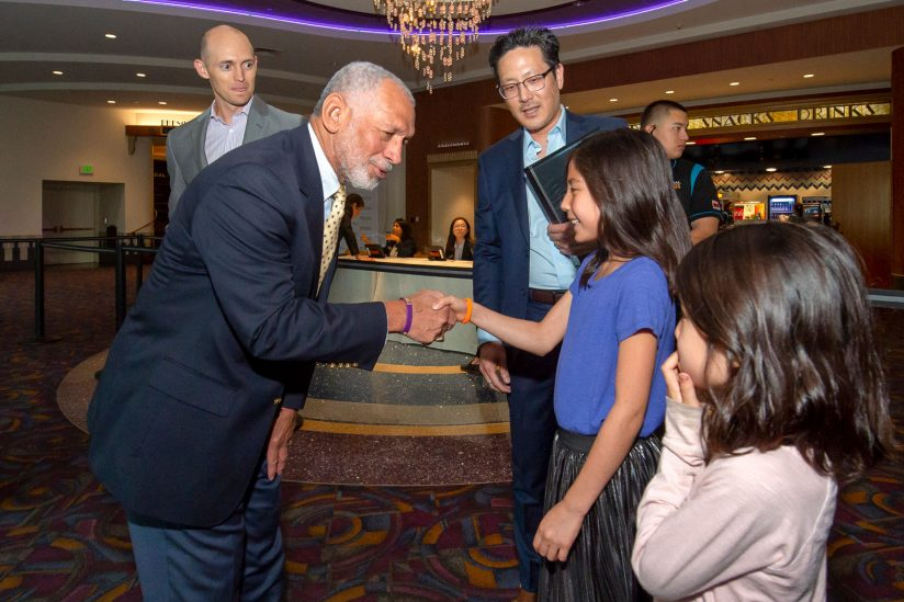 """Neil Armstrong USC: Charles Bolden at the """"First Man"""" screening"""
