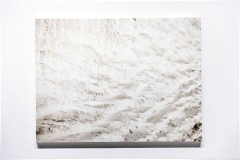 Earth Works exhibition: Guariglia flew over glaciers