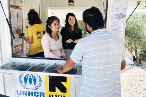 USC student projects refugee camp