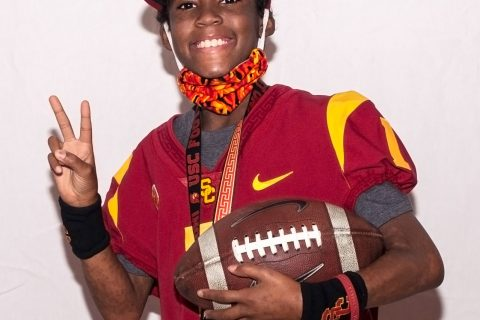 Taylor Hammond leukemia USC fan