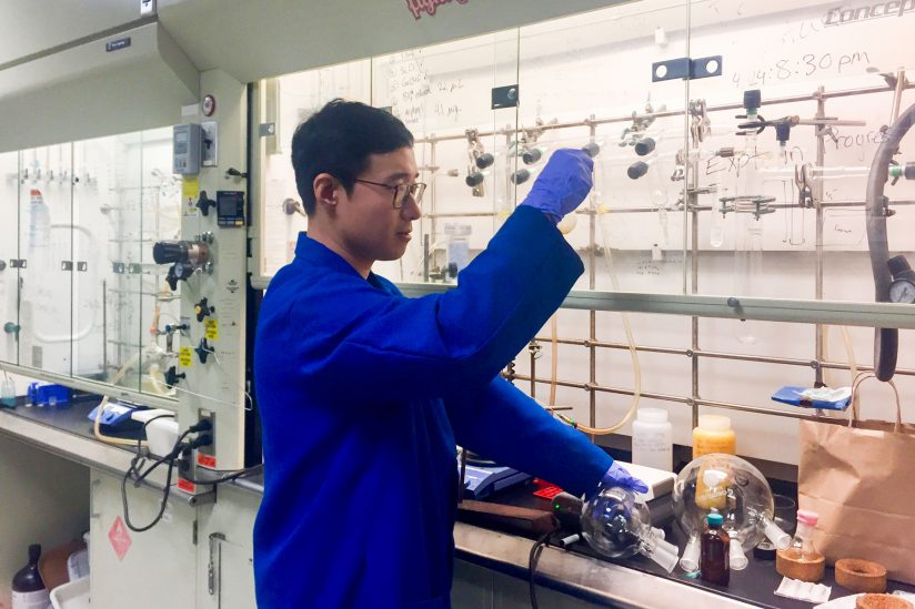 Turning cooking oil into fuel: Zhiyao (Yao) Lu