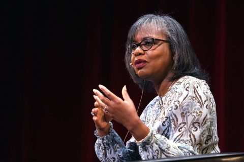 Anita Hill speaks at USC