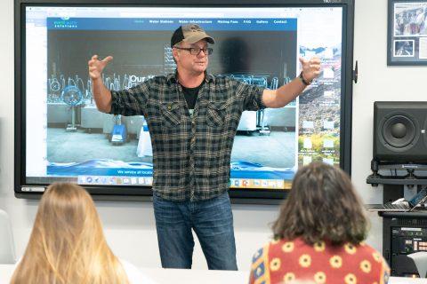 Kevin Lyman teaches festival management and design