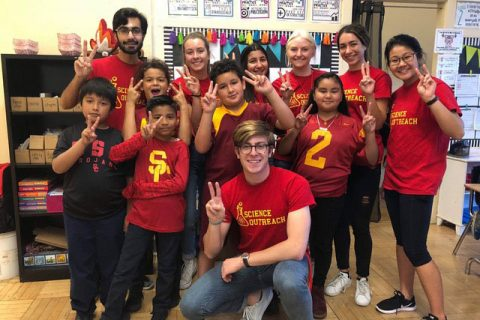 campaign for usc end supports student outreach