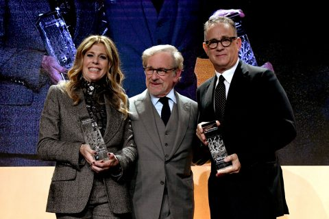 USC Shoah Foundation honors Rita Wilson and Tom Hanks
