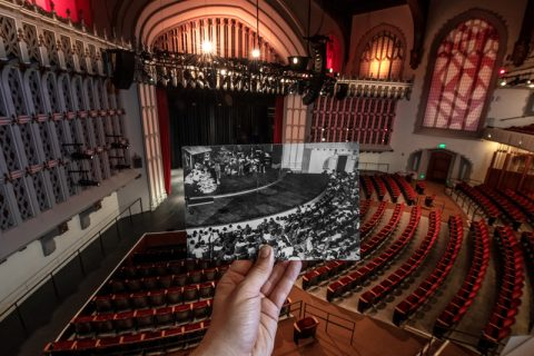 Bovard Auditorium history archive