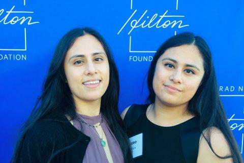 Lucero Noyola and Carmen Noyola Chafee grant
