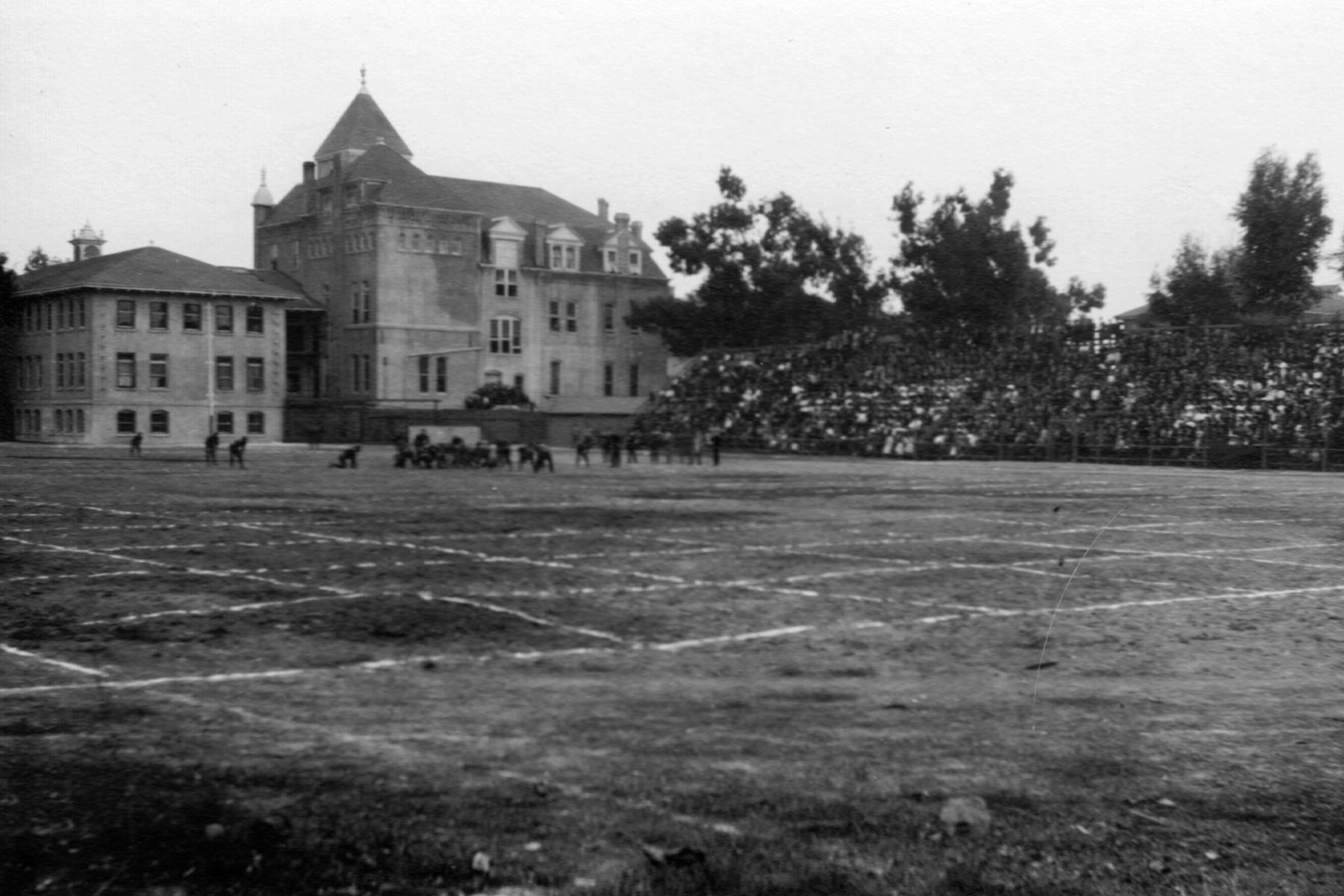 History of the USC campus: Bovard Field (Photo/Courtesy of USC Libraries)