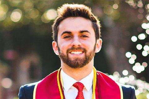 USC Leventhal scholarship: Jake Davidson
