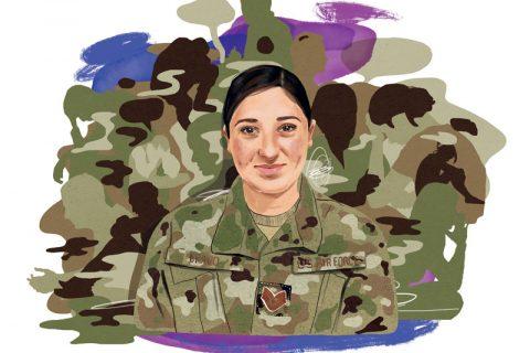 Illustration of Aimee Bravo