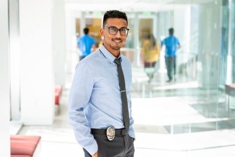 USC neuroscientist and police officer: Faisal Rashid