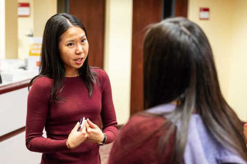 First-generation USC student career mentor