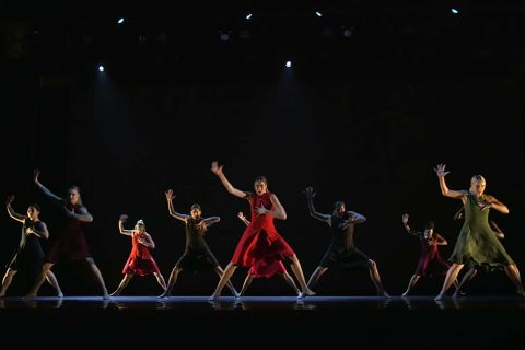 USC Kaufman School of Dance students are preparing for a showcase in New York. (USC Photo/Mark Rivard)