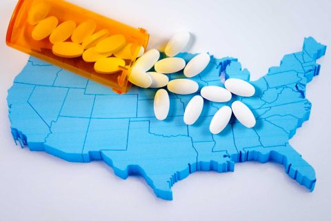 U.S. drug overdose death rates: illustration