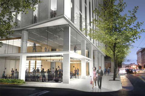 KDFC partnership with San Francisco Conservatory of Music: Architect's rendering