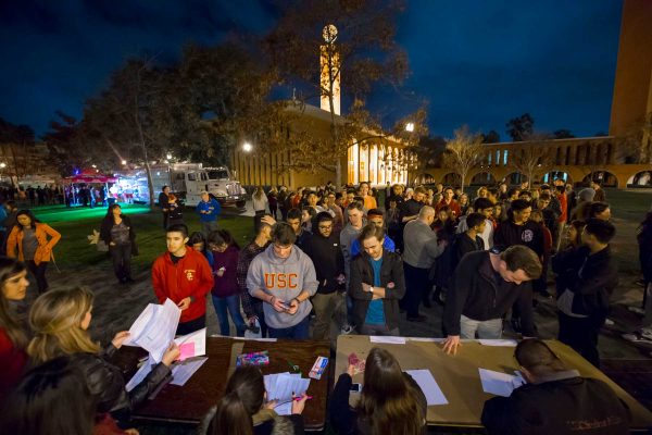 USC spring admits: campus event
