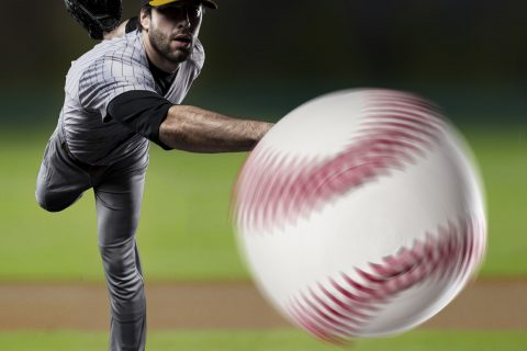 Avoiding Tommy John surgery: Baseball photo illustration