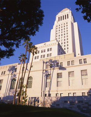 Los Angeles, City Hall, exterior