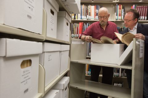 USC Holocaust collection: Lynn Sipe and Wolf Fruner