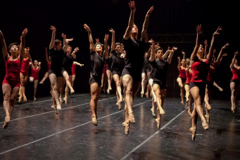USC Kaufman School of Dance first class