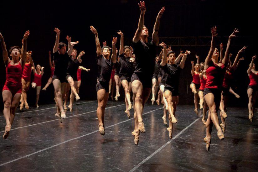 USC Kaufman School of Dance first class