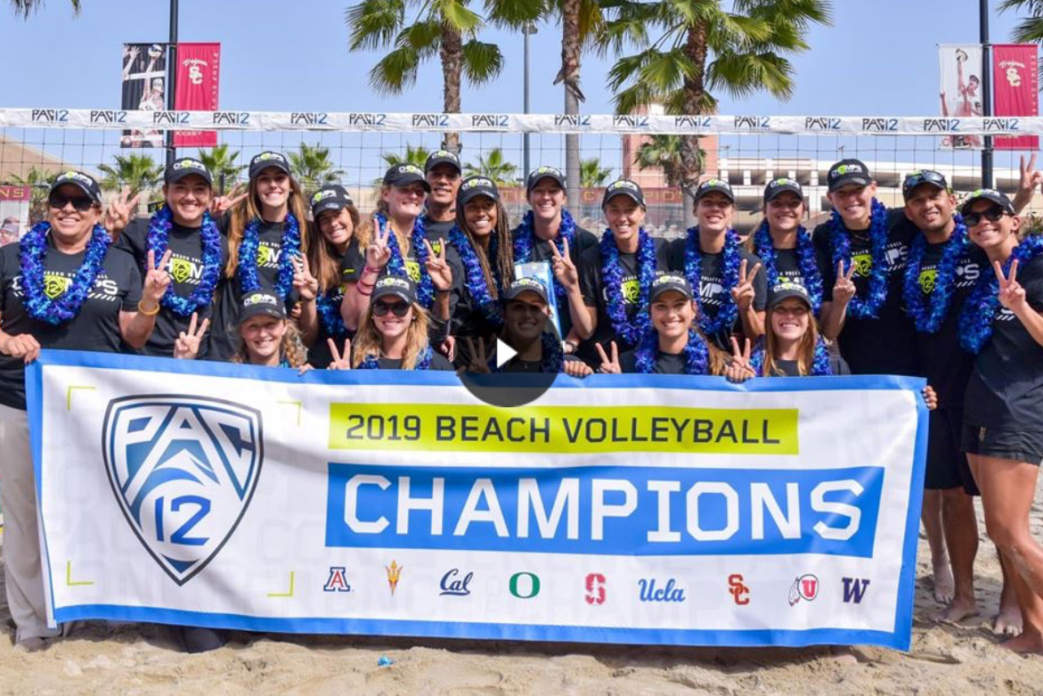 Women's beach volleyball: Pac-12 2019 champions