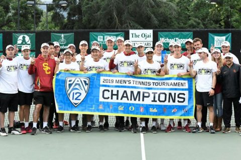 Men's tennis: Pac-12 2019 champions
