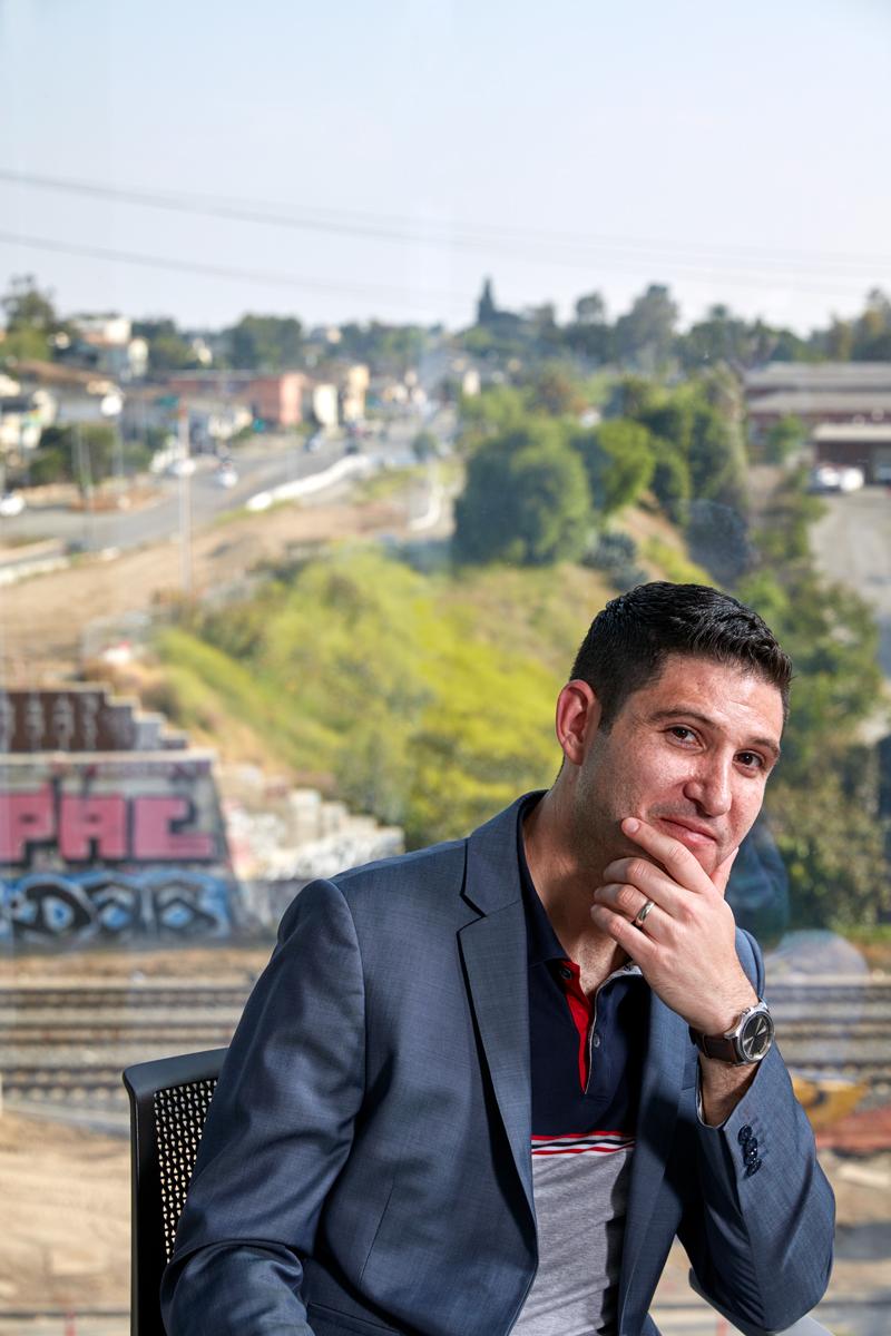 USC opioid expert Adam Leventhal