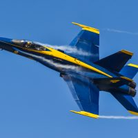 Blue Angels airplane