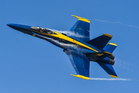 Blue Angels airplane