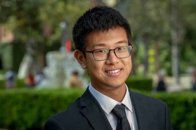 Haochen Wang USC 2019 salutatorian