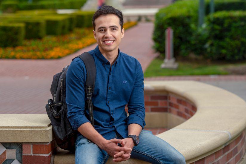 Omar Azizi transfer student USC pakistan