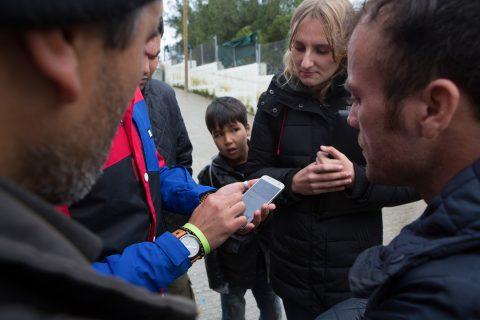 refugee app Safar USC